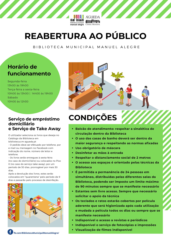REABERTURA AO PÚBLICO